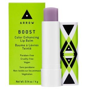 Arrow BOOST Color Enhancing Lip Balm in Berry Busy
